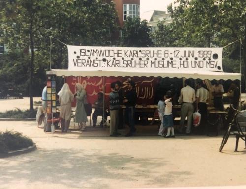 Throwback: Islamwoche 1989
